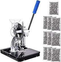 Yescom Semi-automatic Die Hand Press Grommet Machine 10,000Pcs #2 Grommets & Eyelet Feeding & Rolling Base Tool Kit