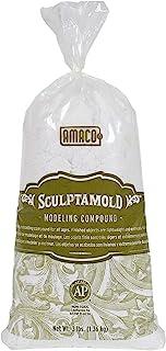 Amaco SC3 Sculptamold Modeling Compound 3lb-White