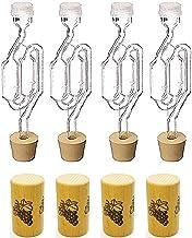醸造3点キット エアロック・ラバー栓・ワイン瓶コルク (20L以下)
