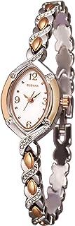 SURVAN WatchDesigner Reloj para Mujer con Movimiento de Cuarzo Reloj de Pulsera de Moda con Correa de Acero Inoxidable