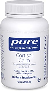Pure Encapsulations - Cortisol Calm - Hypoallergenic Supplement to Maintain Healthy Cortisol Levels - 120 Capsules