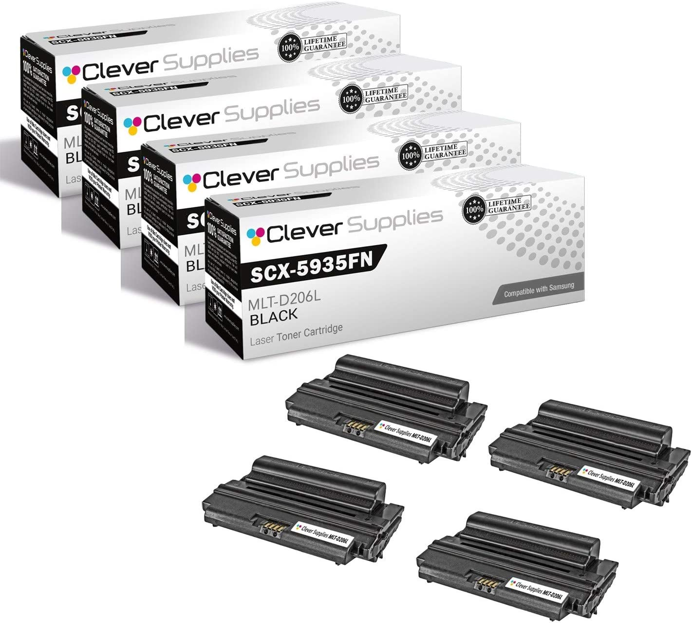 famous CS Compatible Toner Cartridge Samsung Max 64% OFF for Replacement SCX-5935FN