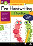 Carson Dellosa | Trace with Me: Pre-Handwriting Practice Activity Book | Grades Preschool-2, Printable