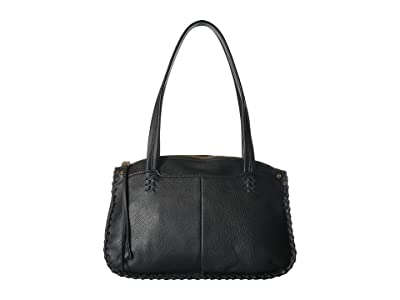 Hobo Alegra (Black) Satchel Handbags