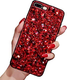 EnjoyCase Sparkling Glitter Full Diamond Rhinestone Bling Hard PC Back + Soft Frame Protective Bumper Case Cover for Samsu...