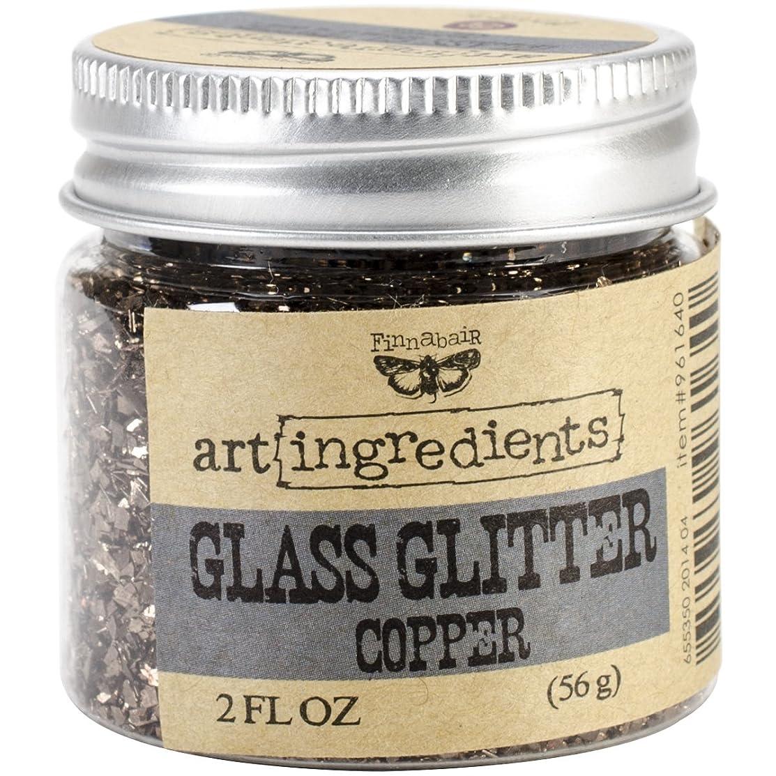 Prima Marketing Art Ingredients Glass Glitter, 2-Ounce, Copper