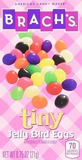 Brach's Easter Candy Tiny Jelly Beans, Bird Eggs, 0.75 Ounce, Pack of 60