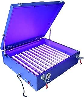 TECHTONGDA UV Exposure Unit 24x28 Inches Silk Screen Printing LED Light Box Plate Burning 110V