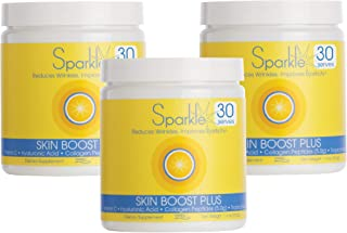 Hydrolyzed Collagen Powder - Sparkle Skin Boost Plus (Tropical Coconut Pineapple) [3-Pack of 30-Serves] VERISOL Collagen P...