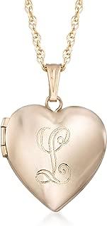 Best 14kt gold locket necklace Reviews