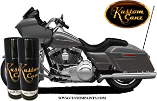 Kustom Canz Harley Davidson Charcoal - 12oz Aerosol can Three Stage Color Price Includes Ground Coat & Mid Coat - Paint Code S28664