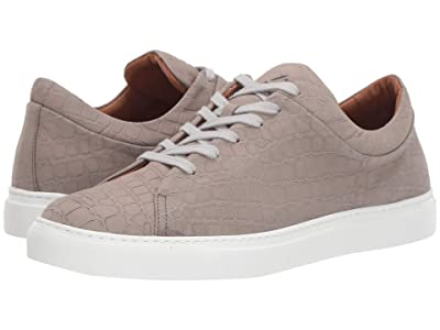 Aquatalia Alaric (Light Grey Embossed Crocodile) Men