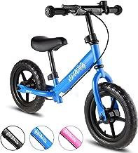 BIKFUN Balance Bike for Kids, No Pedal Traning Children Cycles with Adjustable Handlebar and Seat, Toddler Walking Bicycle