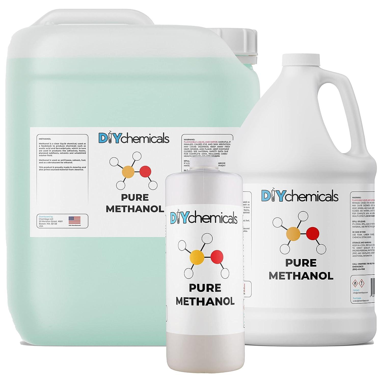 DIYChemicals Methanol Industrial Grade 1 128 mart Limited time cheap sale Gallon fl oz