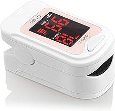 dretec ドリテック パルスオキシメーター 酸素濃度計 医療用 家庭用 国内検査済 ピンク