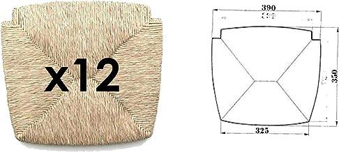 Lot de 4 Chaise Breuer Couleur Naturelle et Paille Vienne Generico Pi/èces de Rechange