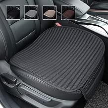 Suninbox Car Seat Cushion,Buckwheat Hulls Car Seat Covers,Ventilated Breathable Comfortable Car Cushion,Anti-Skid Four Seasons General Car Seat Protector (Black)