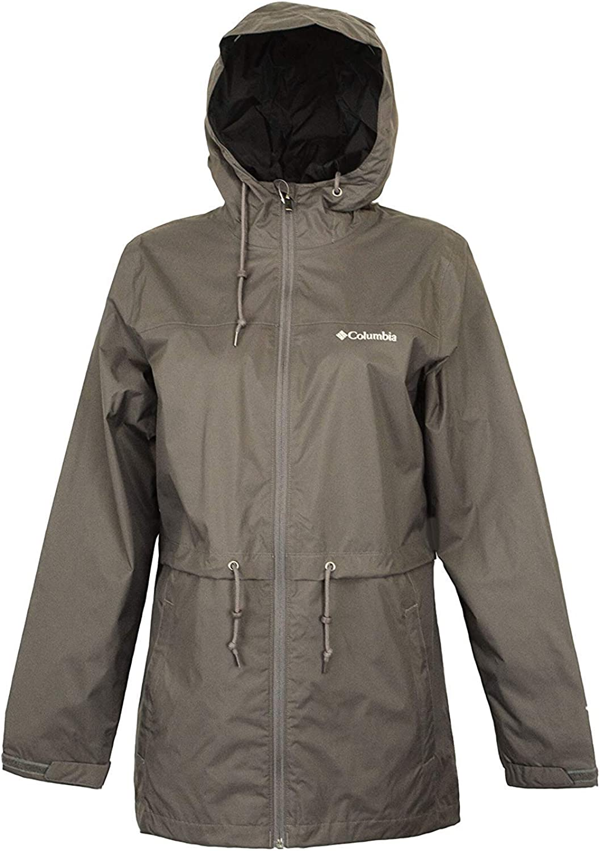 Columbia OmniTech Timber Pointe Casual Womens Waterproof Rain Jacket