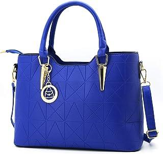 حقيبة كتف جلد للنساء من ليزيهيغو حقيبة يد عصرية بمقبض علوي