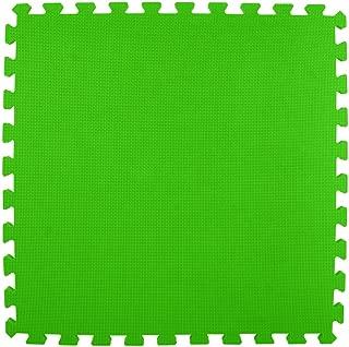 Greatmats Foam Floor Interlocking Soft Tiles, 2x2 Ft x 5/8 Inch for Home Gym Basement Exercise Floor Mats Kids Playroom, 15 Colors, 25 Pack