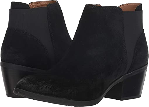 Black Oiled Cow Suede