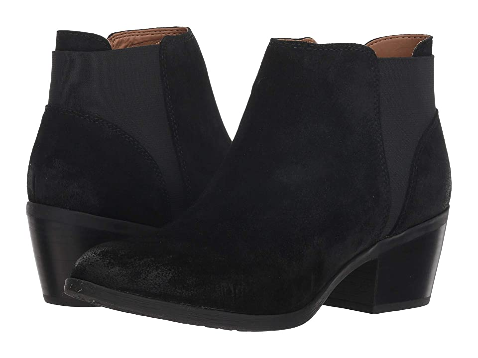 Comfortiva Kendra (Black Oiled Cow Suede) Women