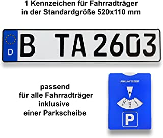 Suchergebnis Auf Für Parkplatz Kennzeichenhalter Car Styling Karosserie Anbauteile Auto Motorrad