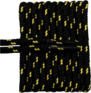 FeetPeople Round Shoe Laces for Boots/Shoes, Various Colors and Lengths