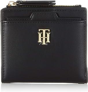 Tommy Hilfiger TH Seasonal Med Slim Wallet, Productos de cuero pequeños para Mujer