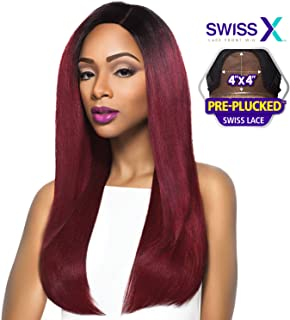 OUTRE Lace Front Wig SWISS X 4x4 RISA (Deep Violet)