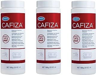 Urnex Cafiza Professional Espresso Machine Cleaning Powder 566 Grams - 3 Pack