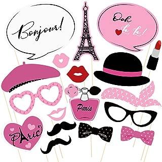 paris themed photo props