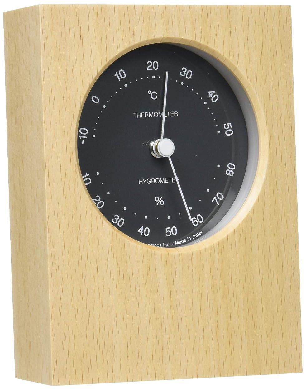 ジョージハンブリー遠い収益Lemnos DUO 温湿度計 グレー PTH10-23 GY