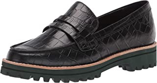Dolce Vita womens Trendy Oxford Flat Loafer, Noir, 7 US