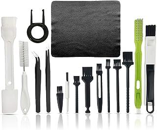 Brosse d'ordinateur 19 en 1, brosse de nettoyage pour ordinateur, brosse de nettoyage anti-statique, kit complet de brosse...
