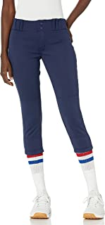 CHAMPRO Women's Tournament Traditional Low-Rise Polyester Softball Pant