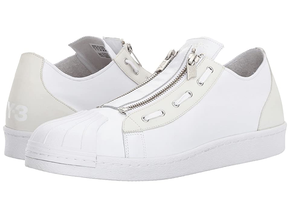 adidas Y-3 by Yohji Yamamoto Super Zip (White/White/White) Lace up casual Shoes