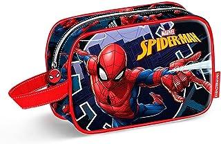 Spiderman Hero Bolsa de Aseo, 21 cm, Azul