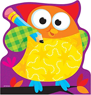 Trend Enterprises Owl Stars Notepad, 5 x 5 Inches, 50 Sheets