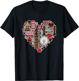 London UK I love London Map iconic traditional Souvenir Gift T-Shirt