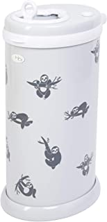 Ubbi Sloth Peel and Stick Decal Stickers, Decorative Sticker for Diaper Pail or Baby Nursery