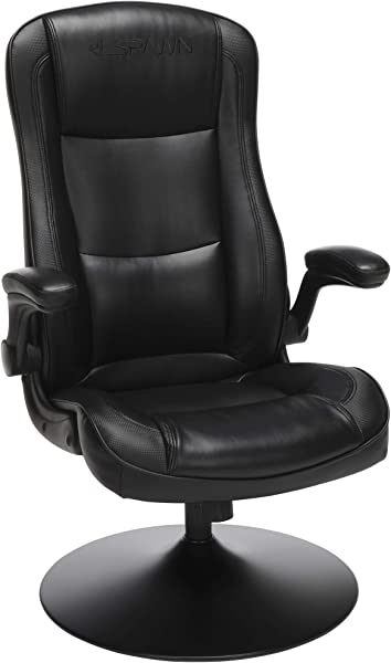 RESPAWN 800 Racing Style Gaming Rocker Chair Rocking Gaming Chair In Black RSP 800 BLK BLK