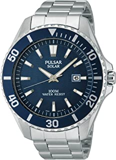 Pulsar Men's Watch XL Analogue Quartz Stainless Steel Sport PX3033 x 1 …