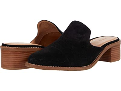 Soludos Ingrid Mule (Black) Women