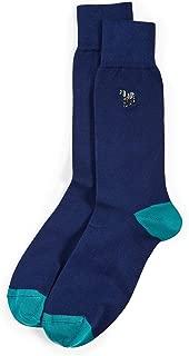 Men's Embroidered Zebra Socks