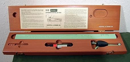 Keuffel & Esser Doric Lettering Set 61 3135