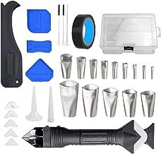 Nishore Kit de ferramentas de acabamento de calafetagem de 32 unidades Kit de ferramentas de acabamento de calafetagem mul...