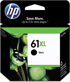 Original HP 61XL Black High-yield Ink | Works with DeskJet 1000, 1010, 1050, 1510, 2050, 2510, 2540, 3000, 3050, 3510; ENV...