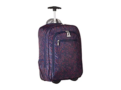 Baggallini Legacy Travel Wheeled Laptop Backpack (Firework Print) Backpack Bags
