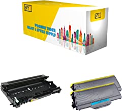 New York Toner New Compatible 3 Pack High Yield Toner & Drum for Brother TN330 DR360 - MFC Multifunction Printers : MFC-7320 | MFC-7340 | MFC-7345DN | MFC-7345N | MFC-7440N | MFC-7840W .- Black